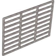Pearl Light Gray Bar 9 x 13 Grille