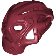 Dark Red Bionicle Mask Calix (Rubber)