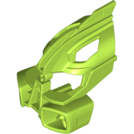 Lime Bionicle Mask Miru Nuva [Adaptive Armour Style A]