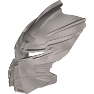 Pearl Light Gray Bionicle Mask Ignika (Toa Ignika)