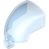Trans-Light Blue Bionicle Mask - Inner Glass (for Faxon Tryna)