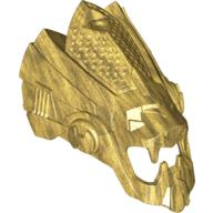 Pearl Gold Hero Factory Mask Lion