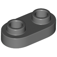 Lego Stone Rounded Palisade 1x2 NEW Grey 5 Piece 257