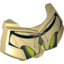 Tan Large Figure Chest Armor Small with SW General Grievous Dark Gray and Lime Pattern