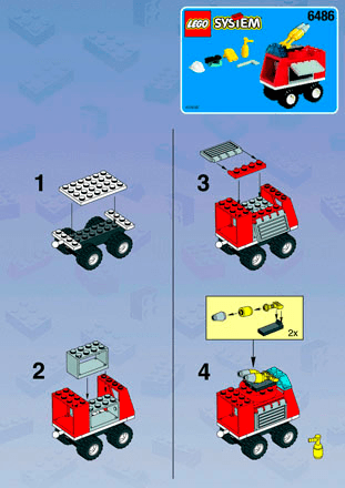 Lego Fire Building Instructions Lego