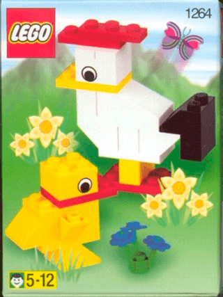 Hen With Chicken 1264 Lego Recruitment Bags Boys Building