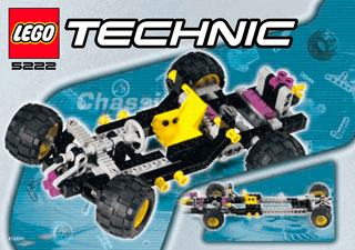 Chassis Pack 5222 - LEGO Technic - Building Instructions