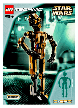 C 3po 8007 Lego Star Wars Tm Building Instructions Lego