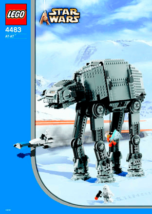 At At 4483 Lego Star Wars Tm Building Instructions Lego