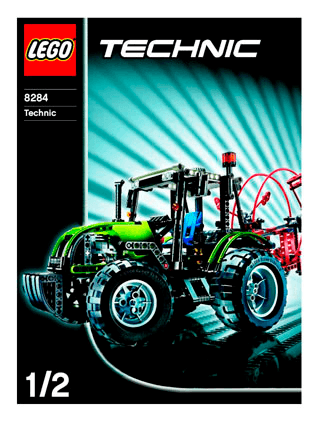 Dune Buggy 8284 Lego Technic Building Instructions Lego