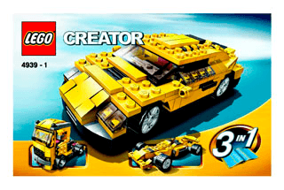 How To Build Lego Cars Instructions | Astar Tutorial