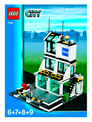 Police Headquarters 7744 Lego City Police Building Instructions