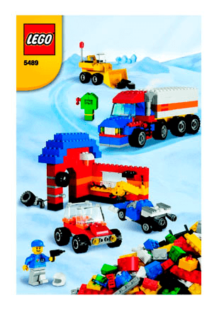 Ultimate Lego Vehicle Building Set 5489 Lego Classic Building