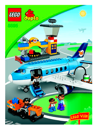 Airport 5595 Lego Duplo Town Building Instructions Lego