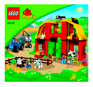 Big Farm 5649 Lego Duplo Town Building Instructions Legocom