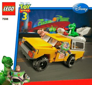 Pizza Planet Truck Rescue 7598 Lego Toy Story Tm Building