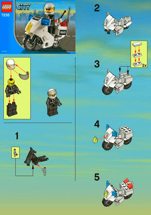 Police Value Pack 66305 Lego City Police Building Instructions