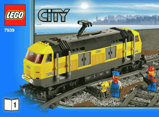 Cargo Train 7939 Lego City Trains Building Instructions Legocom