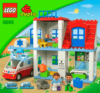 Doctors Clinic 5695 Lego Duplo Town Building Instructions