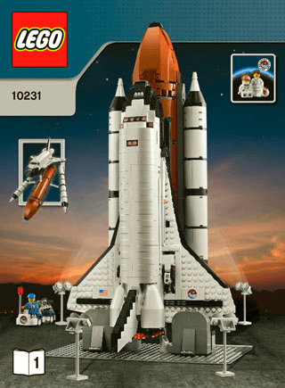 Shuttle Expedition 10231 Lego Creator Expert Building