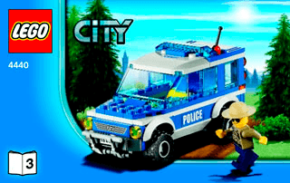 Forest Police Station 4440 Lego City Police Building