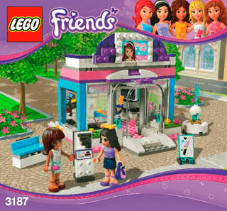 Lego Friends Building Instructions Legocom