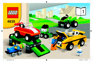 Fun With Vehicles 4635 Lego Classic Building Instructions Lego Com