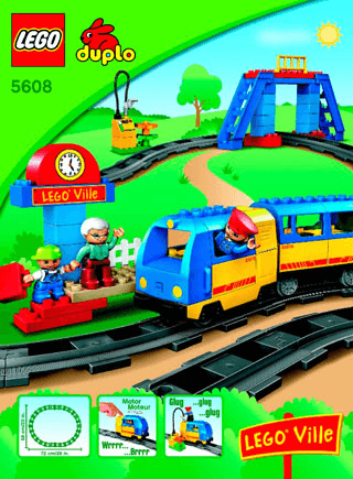 Train Starter Set 5608 Lego Duplo Town Building Instructions