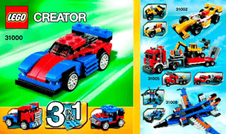 Lego Creator Building Instructions Legocom