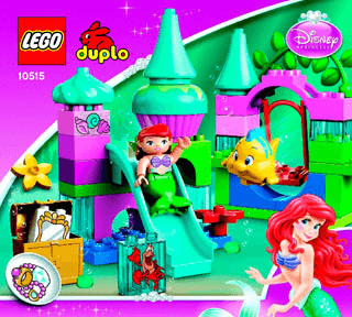 Ariels Undersea Castle 10515 Lego Duplo Princess Tm Building