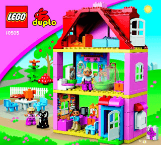Play House 10505 Lego Duplo Town Building Instructions Lego Com