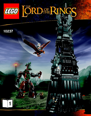 The Tower Of Orthanc 10237 Lego Loftr And Hobbit Building