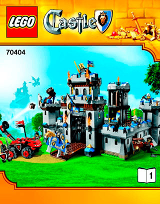 Kings Castle 70404 Lego Castle Building Instructions Lego