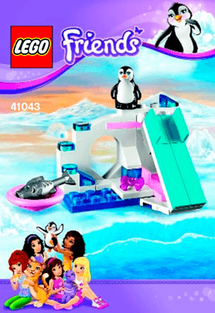 Penguins Playground 41043 Lego Friends Building Instructions