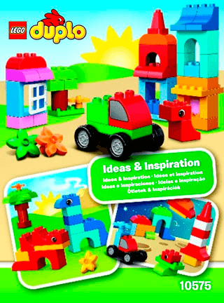 Lego Duplo Creative Building Cube 10575 Lego Duplo My First