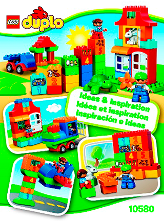 Lego Duplo Deluxe Box Of Fun 10580 Lego Duplo My First