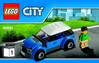 Pickup Tow Truck 60081 Lego City Great Vehicles Building