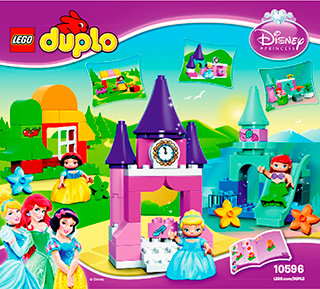 Disney Princess Collection 10596 Lego Duplo Princess Tm