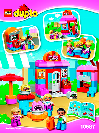 Caf 10587 Lego Duplo Town Building Instructions Lego