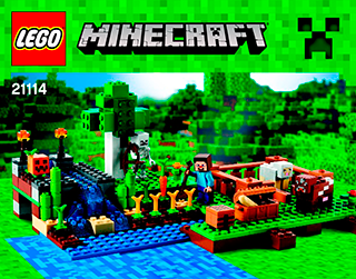 LEGO Minecraft - Building Instructions - LEGO com