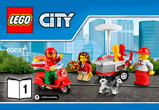 City Square 60097 - LEGO City Town - Building Instructions - LEGO com