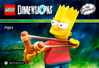 LEGO Dimensions The Simpsons Bart Fun Pack 71211  new