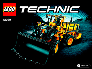 Goede Remote-Controlled VOLVO L350F Wheel Load 42030 - LEGO Technic DG-87