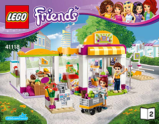 Heartlake Supermarket 41118 Lego Friends Building Instructions