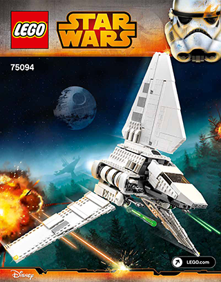Imperial Shuttle Tydirium 75094 Lego Star Wars Tm Building