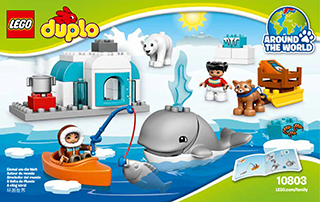 Arctic 10803 Lego Duplo Town Building Instructions Legocom