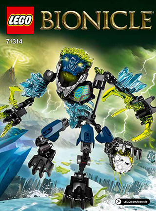 Lego Storm Beast Bionicle 71314 Sealed 109 Pieces