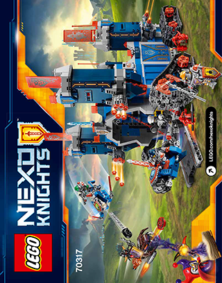 The Fortrex 70317 Lego Nexo Knights Building Instructions Lego