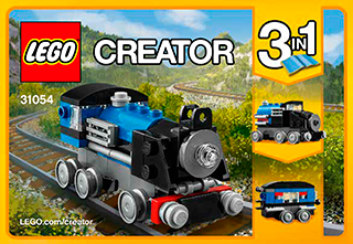 Blue Express 31054 Lego Creator Building Instructions Legocom