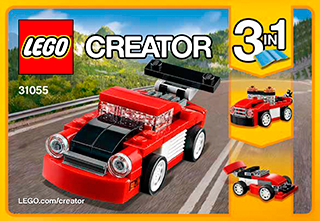 Red Racer 31055 Lego Creator Building Instructions Legocom